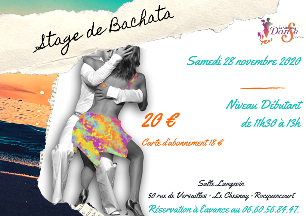 Stage de Bachata – 28 nov 2020