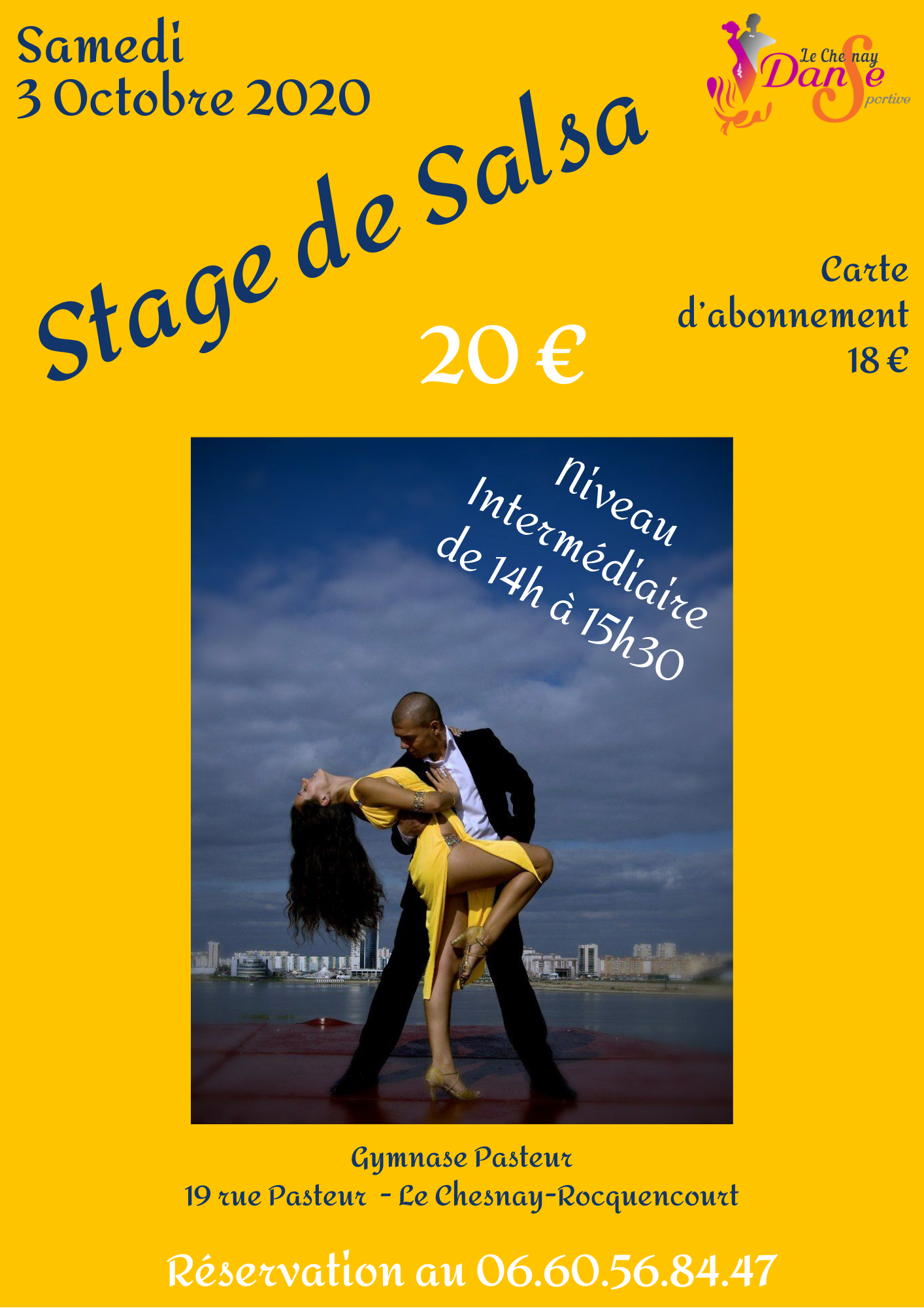 You are currently viewing Stage de Salsa