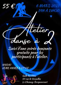Atelier danse à 2