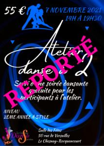 Atelier danse à 2 : Reporté