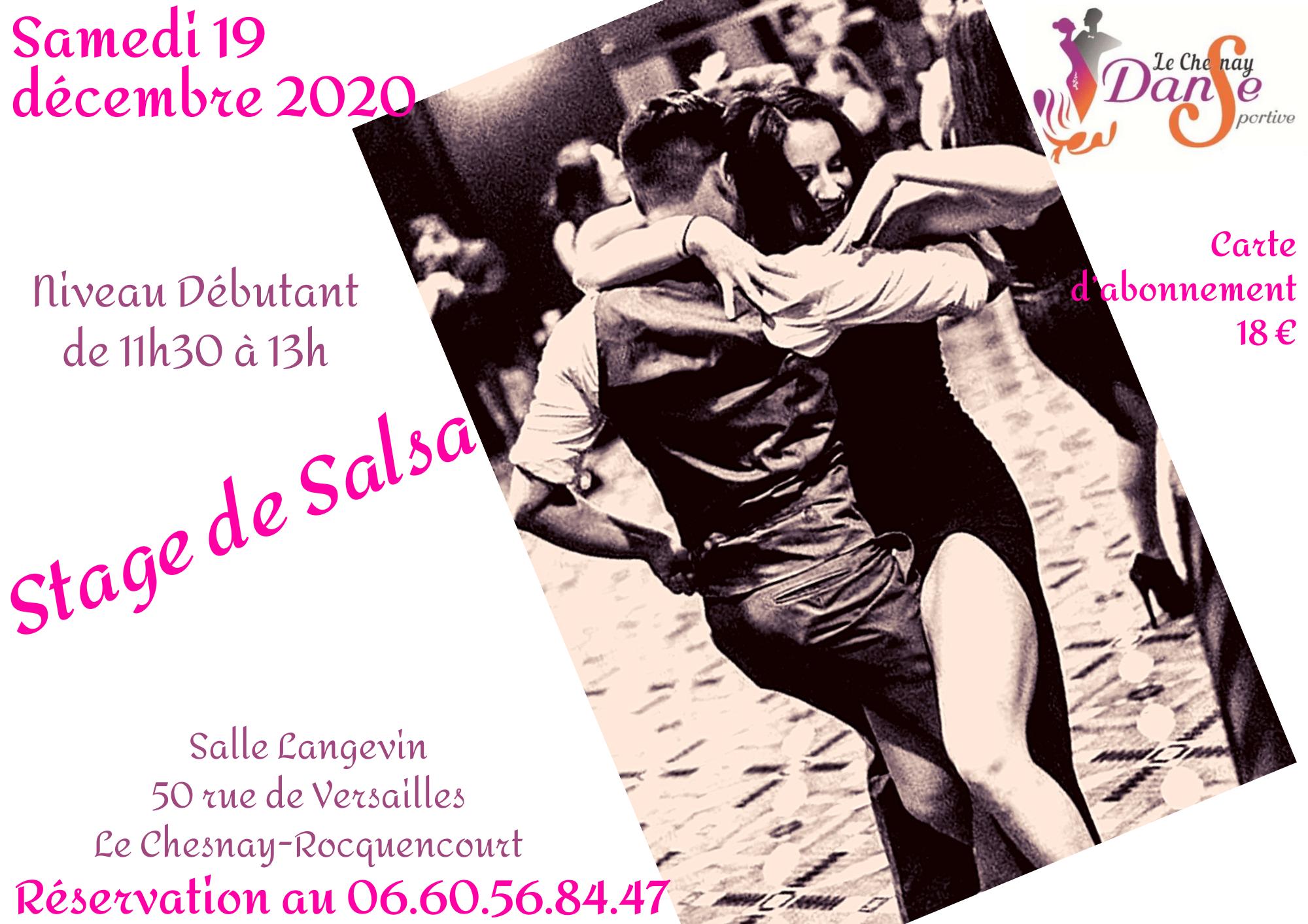2ème stage Salsa déb – 19 décembre 2020