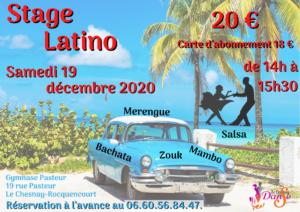 Stage Latino – déc 2020