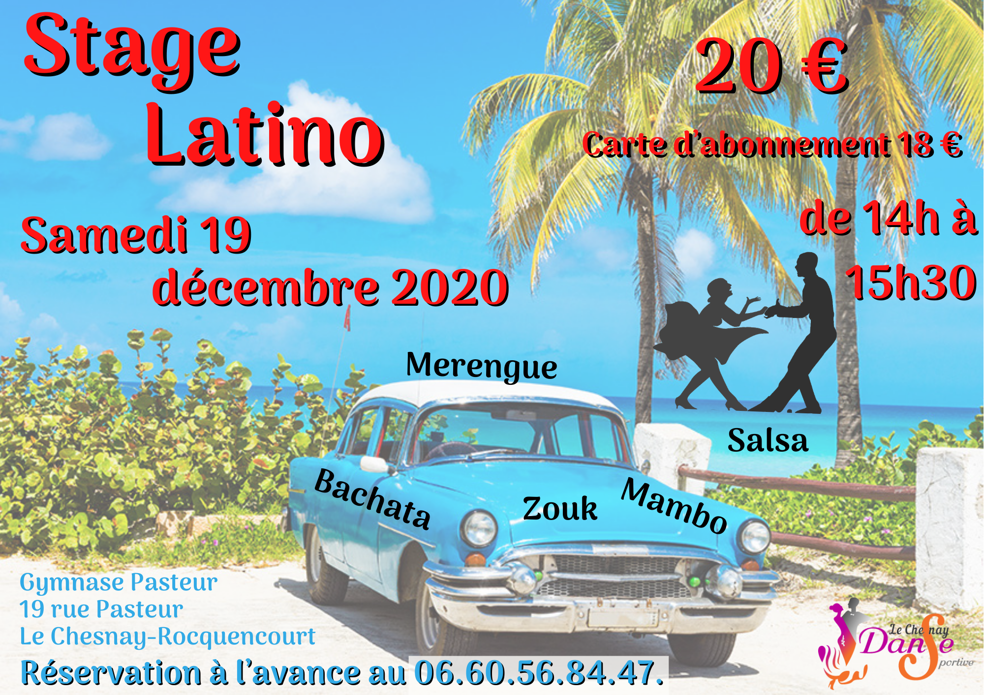 Stage Latino – 19 décembre 2020