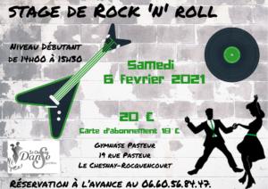4 Stage de Rock débutant – fév 2021