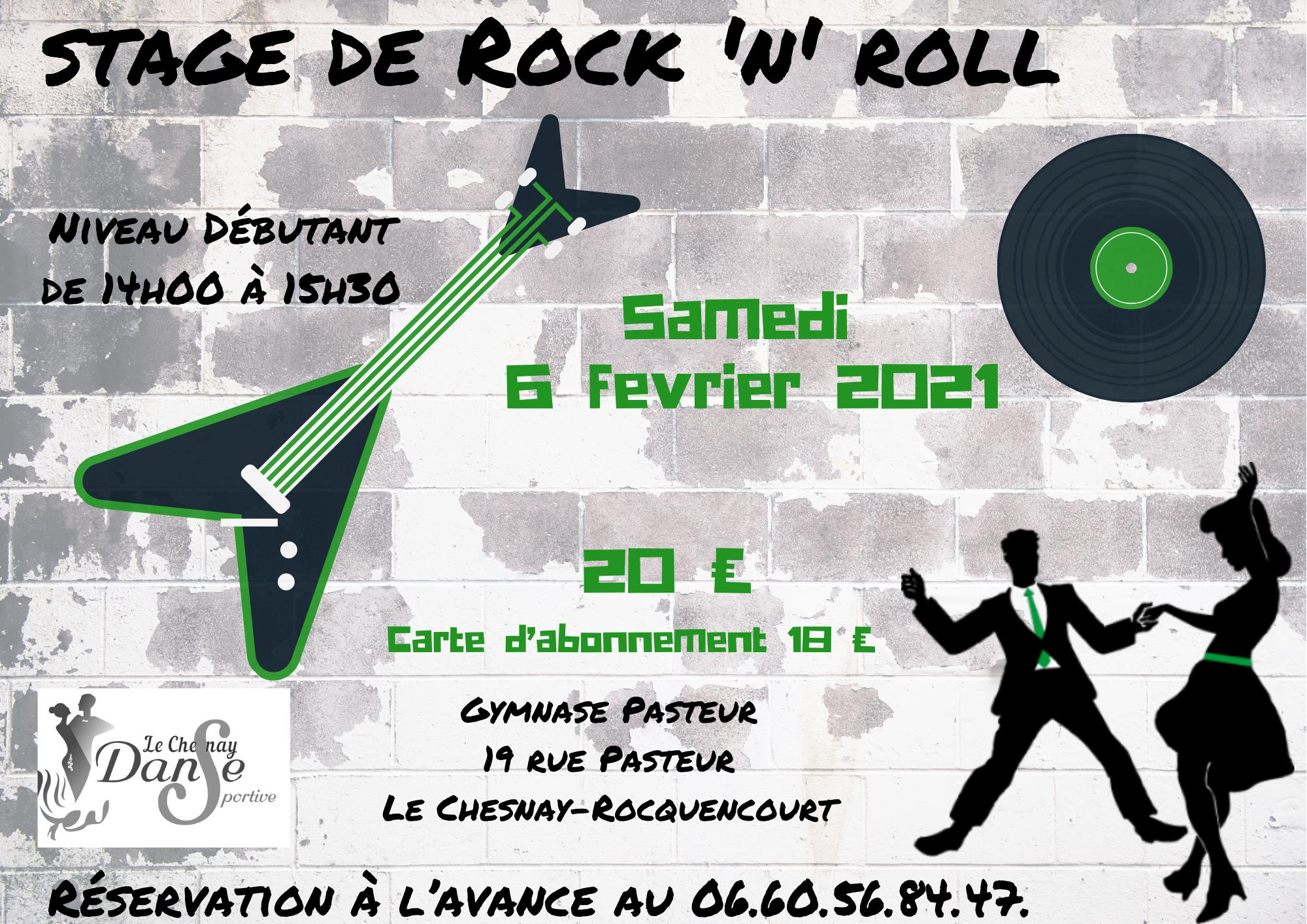 Stage de Rock débutant – février 2021