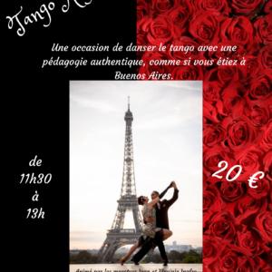 Stage de Tango Argentin – février 2021