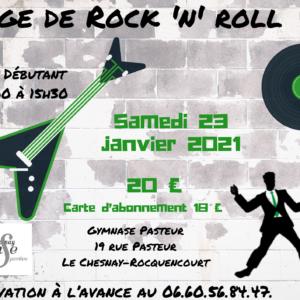 Stage de Rock débutant – janvier 2021