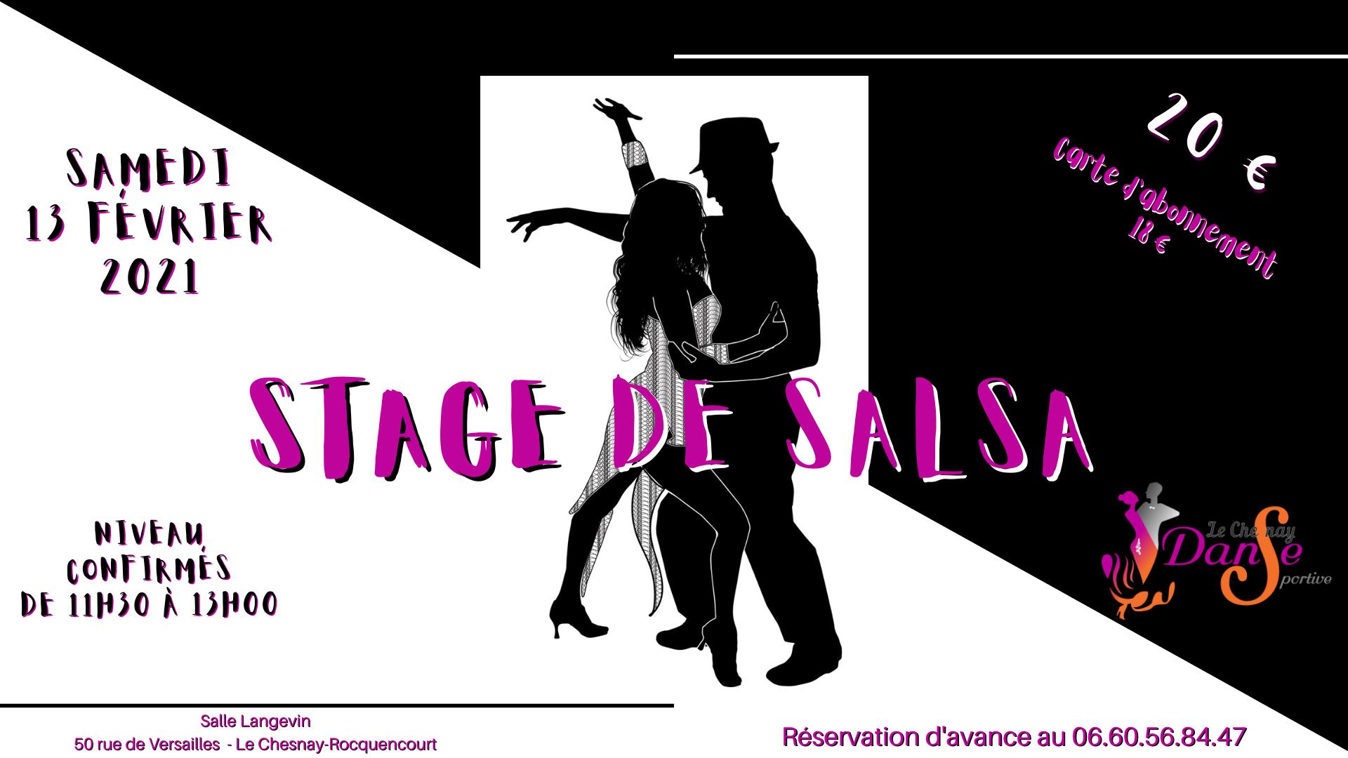 Stage de salsa confirmés – février 2021