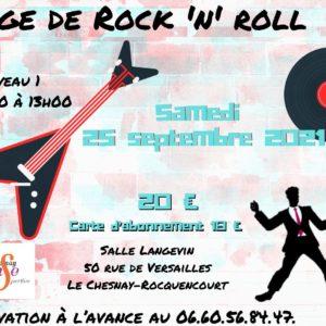STAGE DE ROCK 1 – 25 SEPTEMBRE 2021