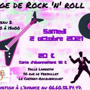 STAGE DE ROCK 2 – 2 OCTOBRE 2021