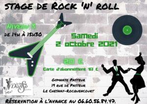 Rock 3 du 2 oct 2021