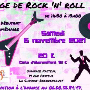 STAGE DE ROCK DÉBUT. & INTERM.  6 NOVEMBRE